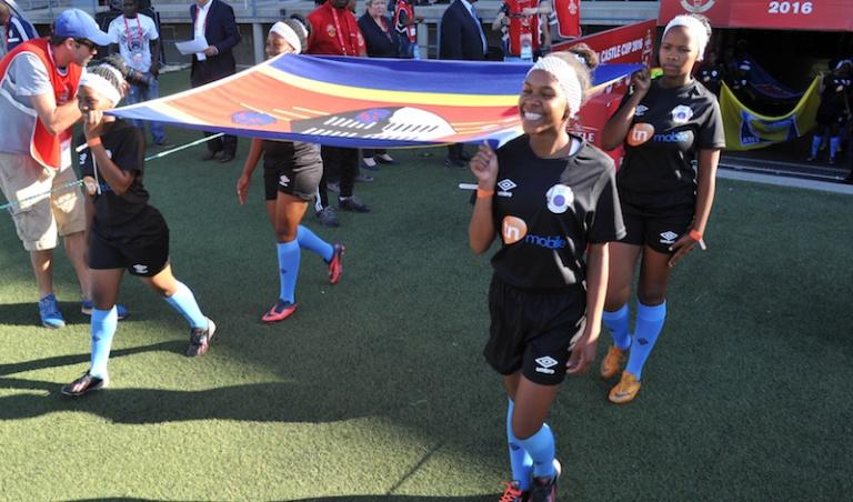 Football - 2016 Cosafa Cup - Zimbabwe v Swaziland - Sam Nujoma Stadium