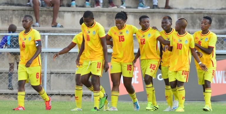 Football - 2017 COSAFA Women's Championship - Zimbabwe v Madagascar - Barbourfields Stadium - Bulawayo