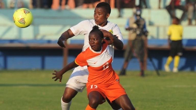 Football - International Women Friendly - Zambia v South Africa - Nkoloma Stadium